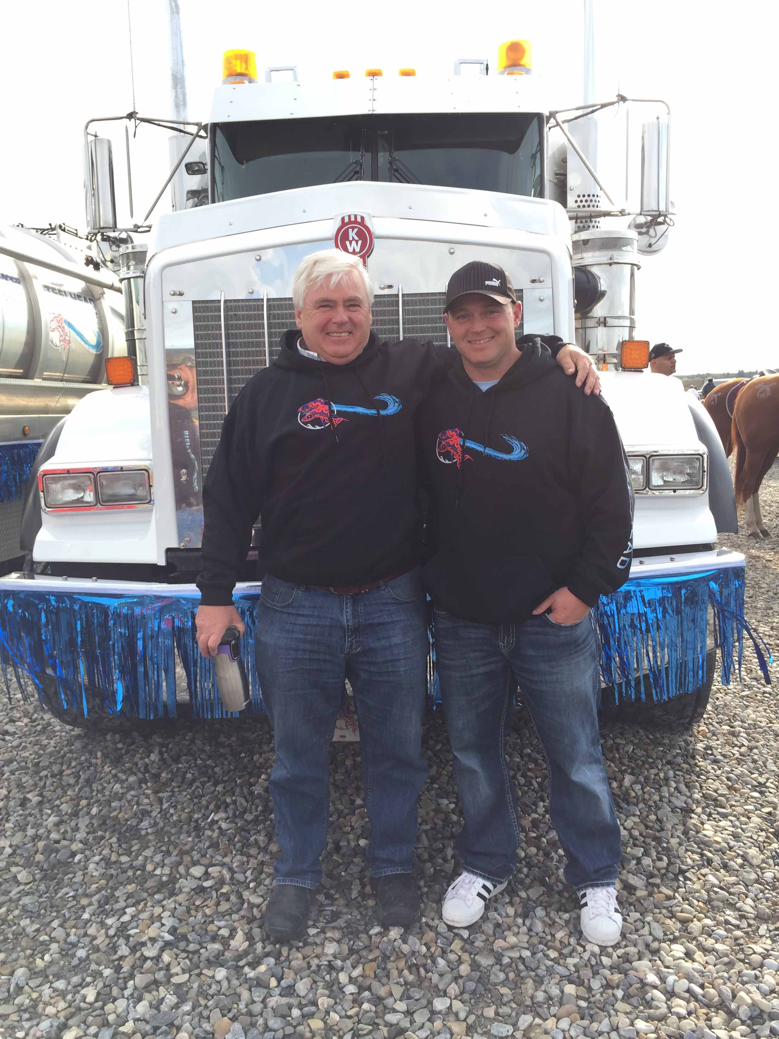 Steelhead Ventures owners at Cochrane Parade