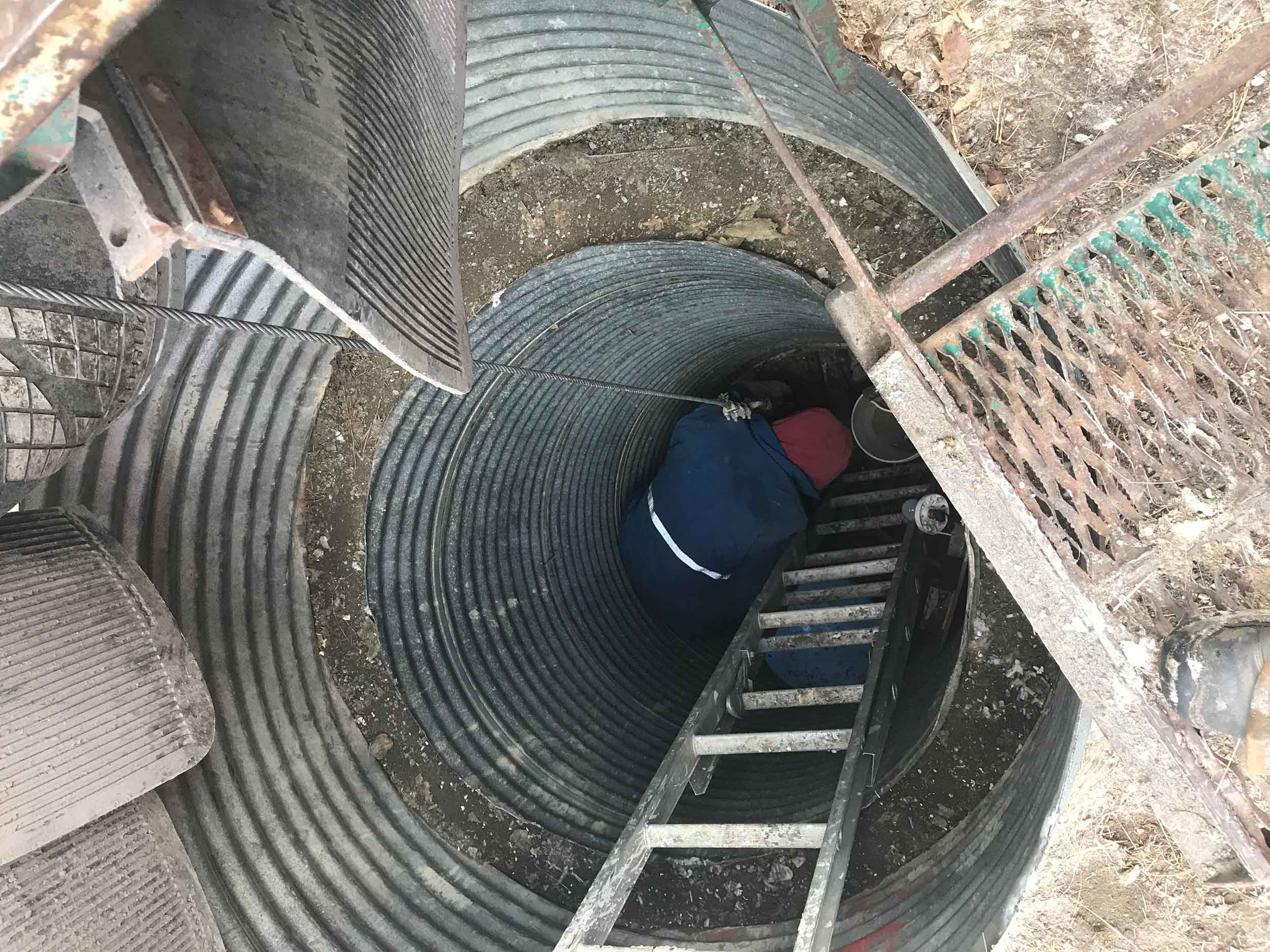 Water Well Pit Decommissioning by Steelhead Ventures
